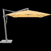 Parasol décentré SOMBRANO® S+ de Glatz, 350 x 350, 438 Straw