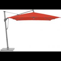 Parasol décentré SOMBRANO® S+ de Glatz, 350 x 350, 516 Fire Red