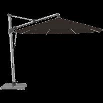 Parasol décentré SOMBRANO® S+ de Glatz, D.350, Structure anthracite, Toile 408 Black