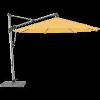 Parasol décentré SOMBRANO® S+ de Glatz, D.350, 438 Straw