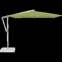 Parasol déporté SUNWING® CASA de Glatz, Structure anodisé naturel, 270 x 270 cm, 411 Sugar grass
