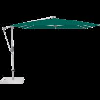 Parasol déporté SUNWING® CASA de Glatz, Structure anodisé naturel, 270 x 270 cm, 446 Aloe