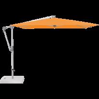 Parasol déporté SUNWING® CASA de Glatz, Structure anodisé naturel, 270 x 270 cm, 661 Helloween