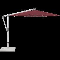 Parasol déporté SUNWING® CASA de Glatz, Structure anodisé naturel, Ø.300 cm, 436 Wine