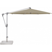 Parasol déporté SUNWING® CASA de Glatz, Structure anodisé naturel, Ø.300 cm, 476 Cinnamon