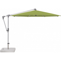 Parasol déporté SUNWING® CASA de Glatz, Structure anodisé naturel, Ø.330 cm, 411 Sugar grass