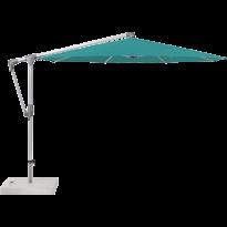 Parasol déporté SUNWING® CASA de Glatz, Structure anodisé naturel, Ø.330 cm, 416 Caribbean