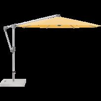Parasol déporté SUNWING® CASA de Glatz, Structure anodisé naturel, Ø.330 cm, 438 Straw