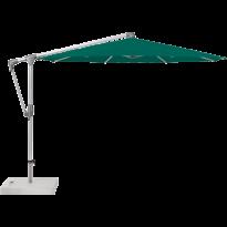 Parasol déporté SUNWING® CASA de Glatz, Structure anodisé naturel, Ø.330 cm, 446 Aloe