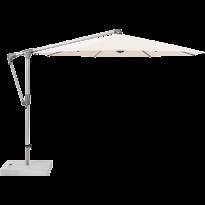 Parasol déporté SUNWING® CASA de Glatz, Structure anodisé naturel, Ø.330 cm, 453 Vanilla