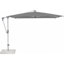 Parasol déporté SUNWING® CASA de Glatz, Structure anthracite, 270 x 270 cm, 420 Smoke