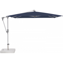 Parasol déporté SUNWING® CASA de Glatz, Structure anthracite, 270 x 270 cm, 439 Navy