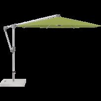 Parasol déporté SUNWING® CASA de Glatz, Structure anthracite, Ø.300 cm, 411 Sugar grass