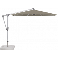 Parasol déporté SUNWING® CASA de Glatz, Structure anthracite, Ø.300 cm, 461 Taupe