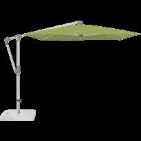 Parasol déporté SUNWING® CASA de Glatz, Structure anthracite, 300 x 240 cm, 411 Sugar grass