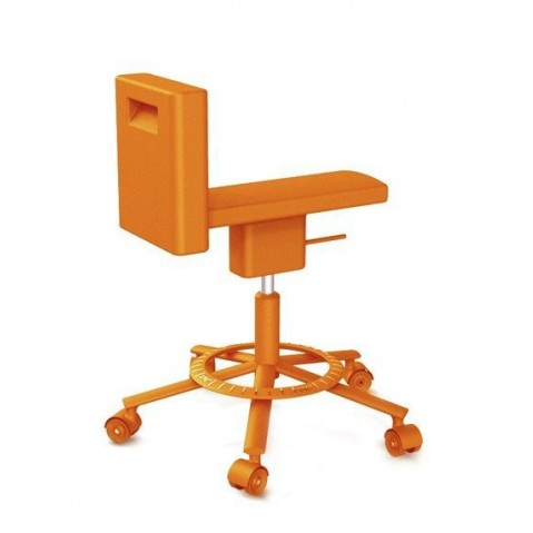 Chaise 360° de Magis vert orange