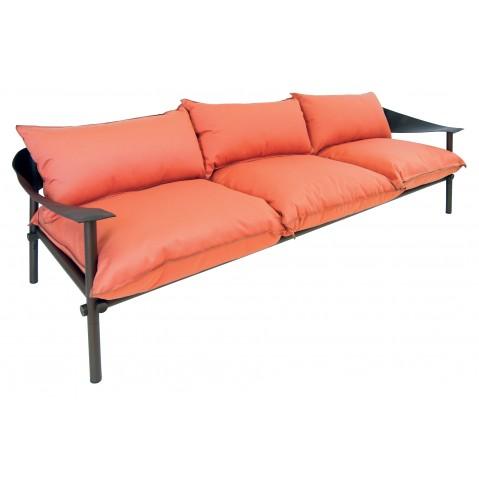 Sofa 3 places TERRAMARE avec coussins de Emu