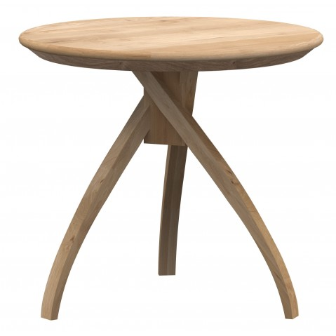 Table d'appoint TWIST d'Ethnicraft, 3 tailles