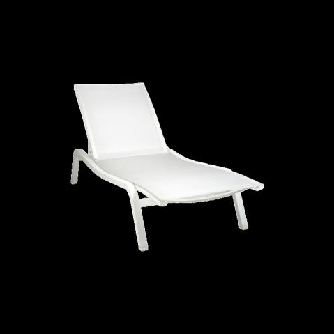 Bain de soleil ALIZÉ de Fermob, Blanc Coton