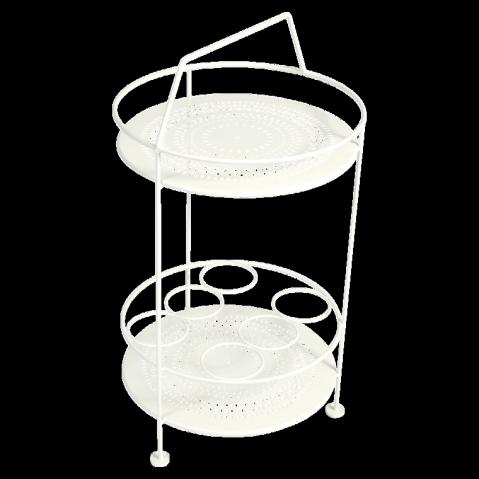 Bar portatif MONTMARTRE de Fermob blanc coton