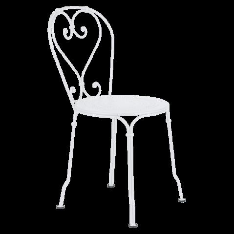 Chaise 1900 de Fermob, Blanc Coton