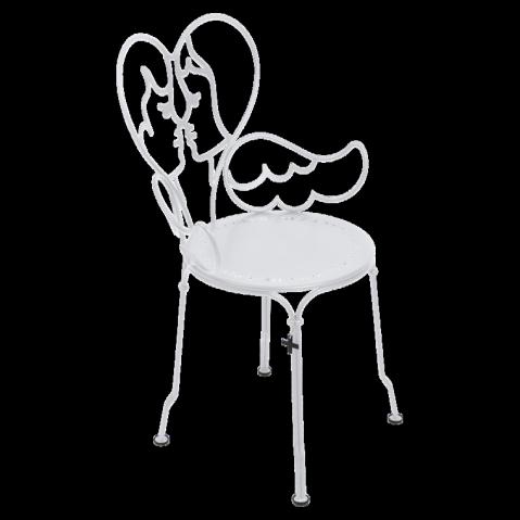 Chaise ANGE de Fermob blanc coton