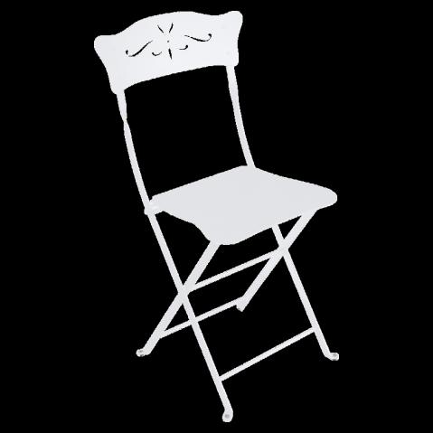 Chaise BAGATELLE de Fermob blanc coton