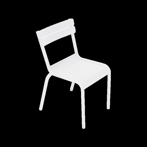 Chaise Enfant LUXEMBOURG KID de Fermob blanc coton