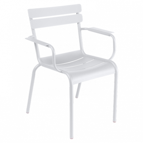 Chaise LUXEMBOURG de Fermob blanc coton