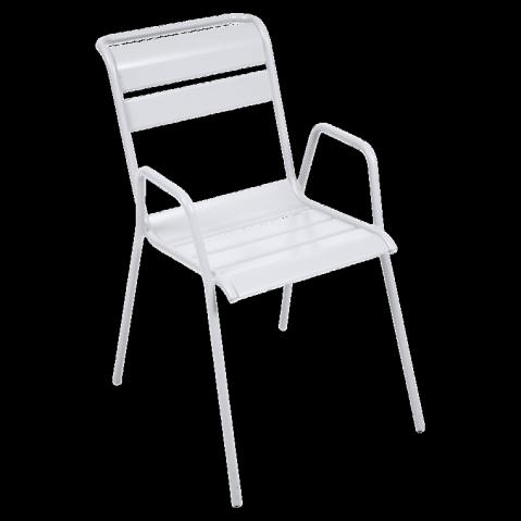Fauteuil MONCEAU  de Fermob, Blanc coton