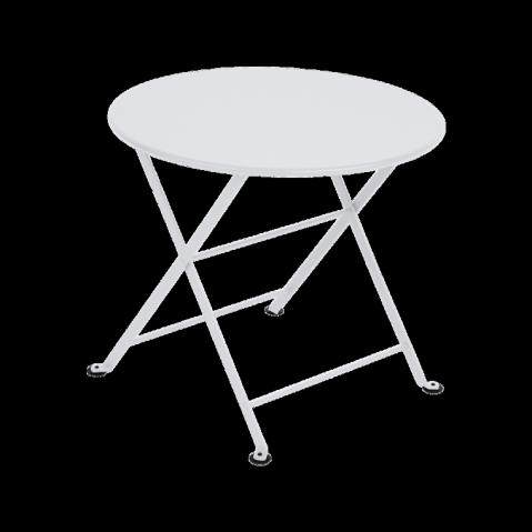 Table basse Enfant TOM POUCE de Fermob blanc coton