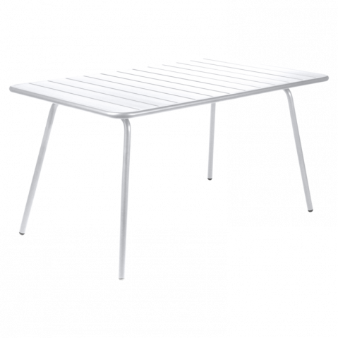 Table LUXEMBOURG de Fermob, Blanc Coton