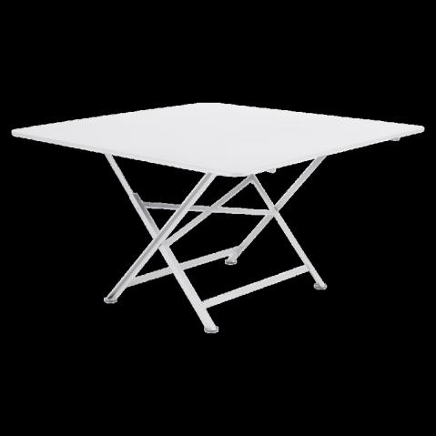 Table pliante CARGO de Fermob blanc coton