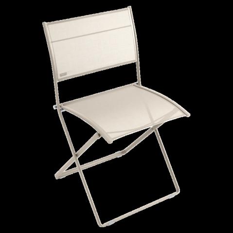 Chaise pliante PLEIN AIR de Fermob lin