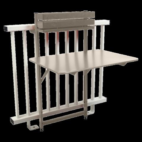 Table balcon BISTRO de Fermob, Lin