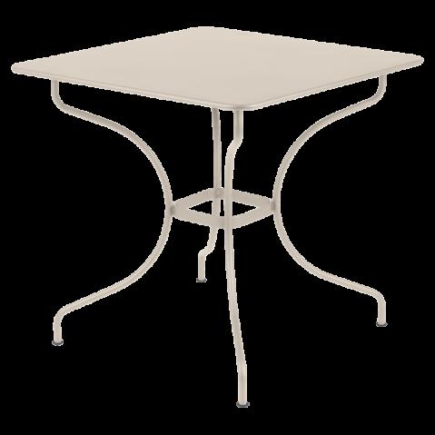 Table carrée OPÉRA de Fermob lin