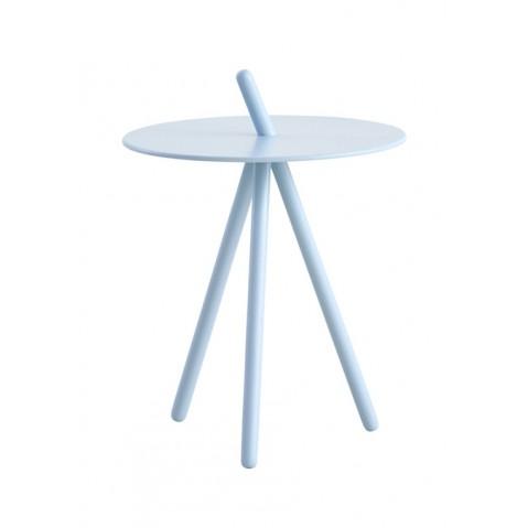 Table d'appoint COME HERE de Woud, Bleu clair