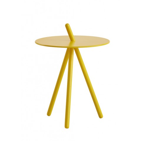Table D Appoint Come Here De Woud Jaune