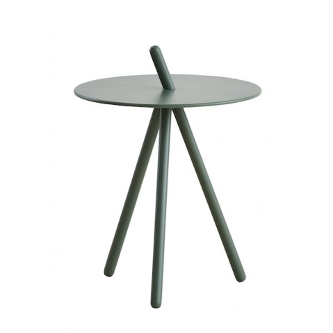 Table d'appoint COME HERE de Woud, Vert