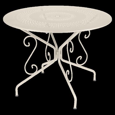 Table MONTMARTRE de Fermob D.96, Lin