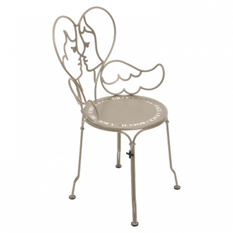 Chaise ANGE de Fermob muscade
