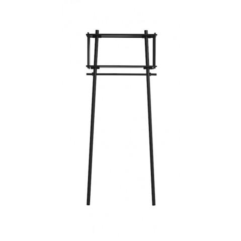 porte manteau tag re mural tojbox de woud small noir. Black Bedroom Furniture Sets. Home Design Ideas