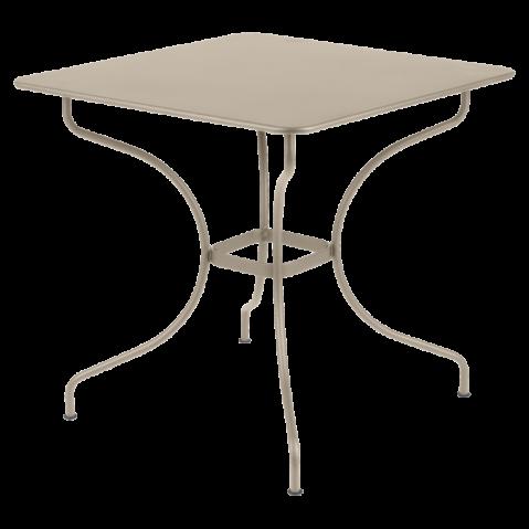 Table carrée OPÉRA de Fermob muscade