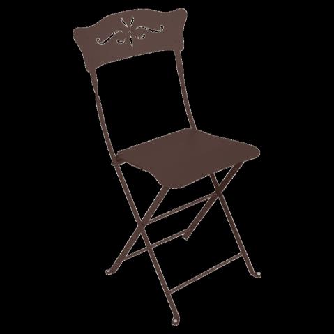 Chaise BAGATELLE de Fermob rouille