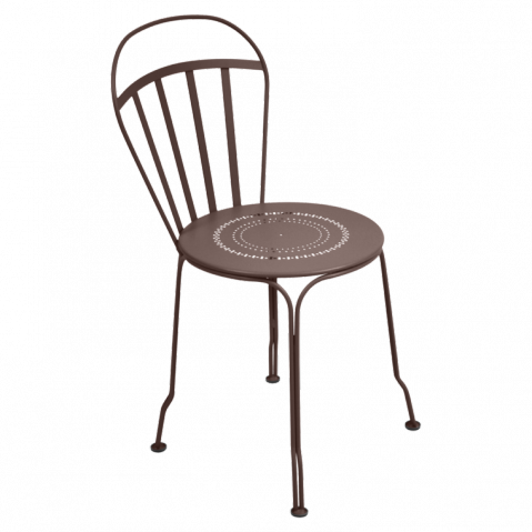 Chaise LOUVRE de Fermob rouille