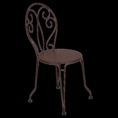Chaise MONTMARTRE de Fermob rouille