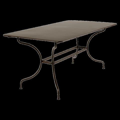 Table MANOSQUE de Fermob rouille