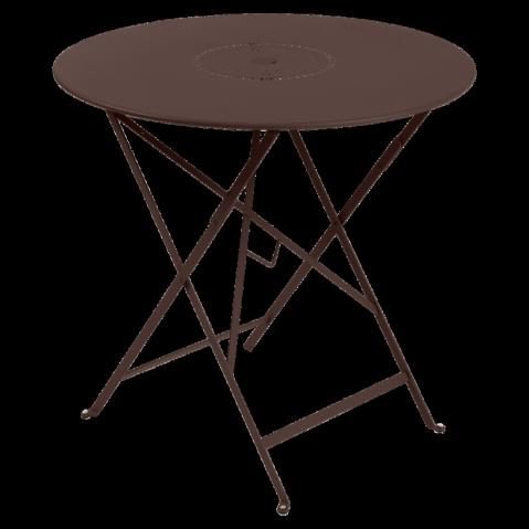 Table pliante FLORÉAL de Fermob D.77 rouille