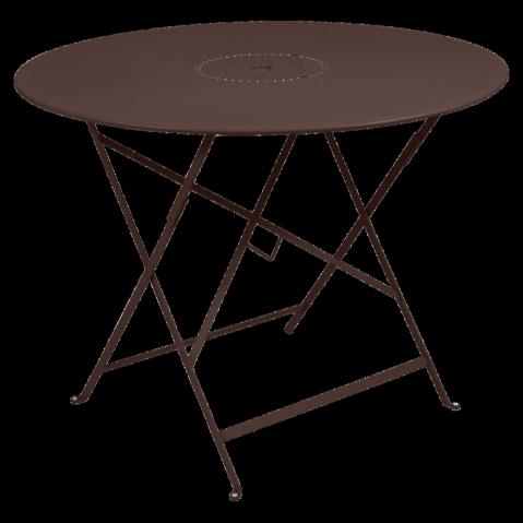 Table pliante FLORÉAL de Fermob D.96 rouille