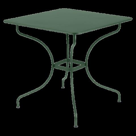 Table carrée OPÉRA de Fermob cèdre